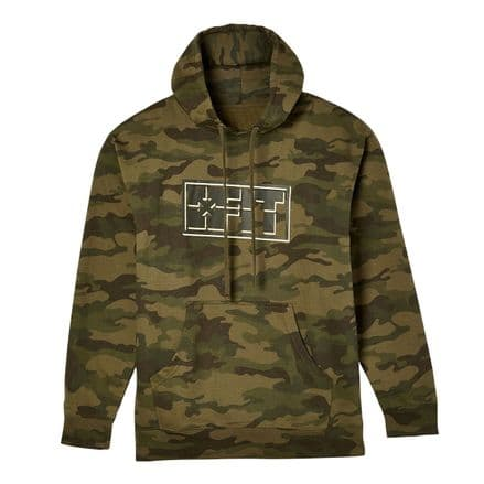 FIT Scope Hoodie Forest Camo XL